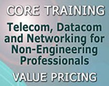 Our famous 3-day Course 101 Telecom, Datacom and Networking for Non-Engineers